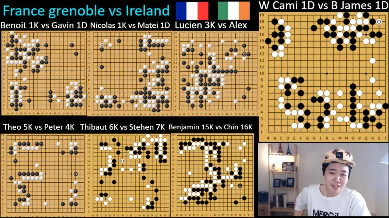 rencontre amicale Grenoble-Irlande